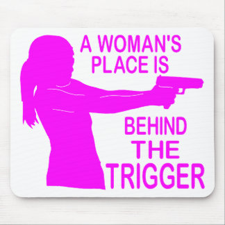 A WOMAN'S PLACE MOUSE PAD