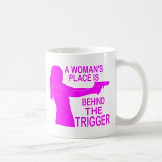 A WOMAN'S PLACE COFFEE MUG