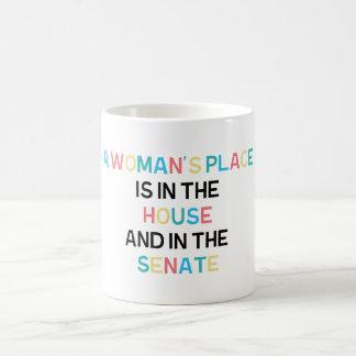 A Woman's Place Mug