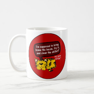 A woman's work is never done in the office or home coffee mug