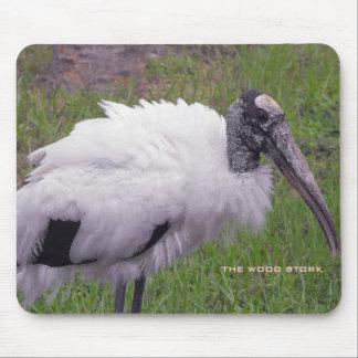 A Wood Stork Mousepads
