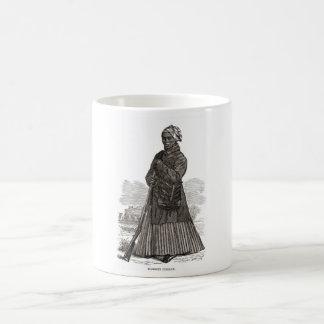 A woodcut image of Harriet Tubman, before 1869 Classic White Coffee Mug