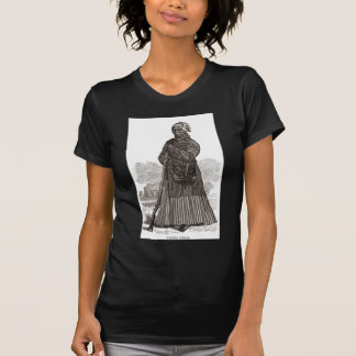 A woodcut image of Harriet Tubman, before 1869 T Shirts