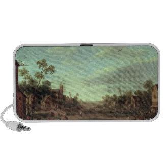 A Wooded River Landscape, 1646 Travel Speaker