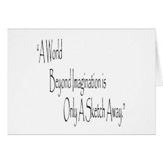 A World Beyond DR Card
