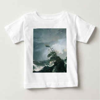 A World Famous Painting of A Stormy Sea Baby T-Shirt