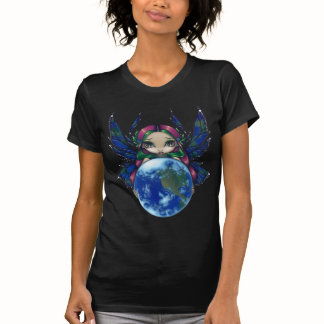 Image of A World In Good Hands Jasmine Becket Griffith Fairy Shirt