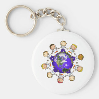 A World of Angels Keychains