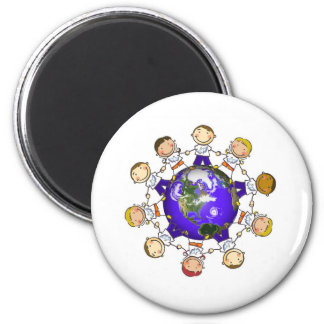 A World of Angels Magnet