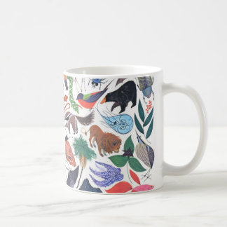 a world of animals coffee mug