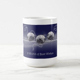 A World of Best Wishes Christmas Mug