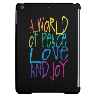 A World of Peace, Love, and Joy Cover For iPad Air