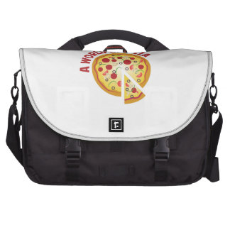 A World Of Pizza Laptop Bags