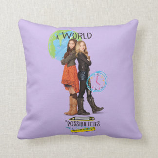 A World of Possibilities Throw Pillow