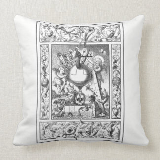 A World of Vanity Pillow