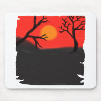 A World So Dark By Chrystal Suicide Mouse Pad