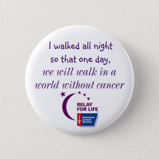 A World Without Cancer Button