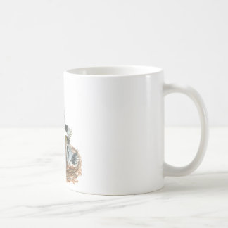 A Worm...  Yah, Food! Coffee Mug