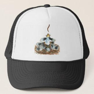 A Worm...  Yah, Food! Trucker Hat
