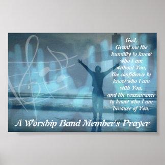 A Worship Band Member s Prayer Posters