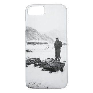A wounded chaplain reads_War Image iPhone 8/7 Case