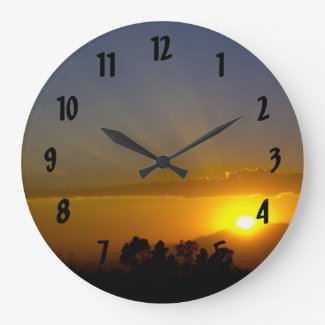 A WOW! Sunset Clock