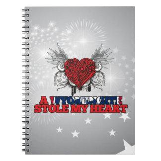 A Wyomingite Stole my Heart Notebook