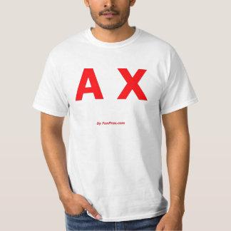 A X AX autocross autoX auto-x Shirt
