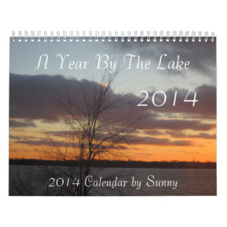 A Year By The Lake 2014 Calendar