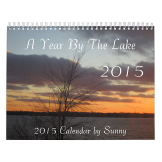 A Year By The Lake 2015 Calendar
