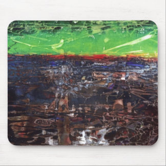 """""""A Year In Country"""" Abstract Design Mousepad"""