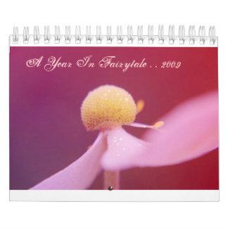 A Year In Fairytale - Plain Version Calendar