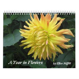 A Year in Flowers 2015 Calendar - Photographs
