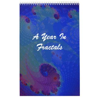 A Year In Fractals Calendar