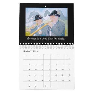 A Year in Germany Calendar