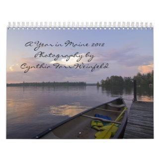 A Year in Maine 2012 Calendar