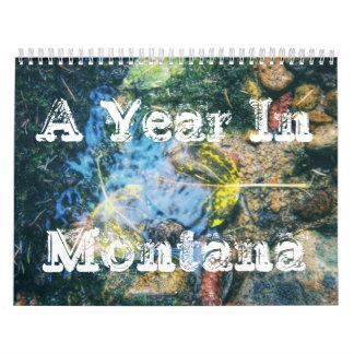 A Year In Montana Calendar