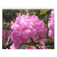 A Year in My Gardens: dreamflower 2018 calendar