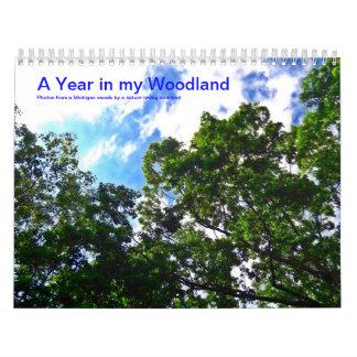 A Year in My Woodland 2014 Calendar