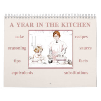 A Year in the Kitchen Calendar