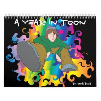 A Year In Toon, by Rob Birt Calendar