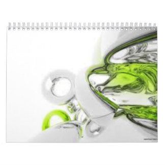 A year of abstract calendar