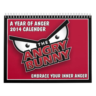 A Year of Anger 2014 Calendar