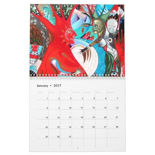 a year of arteology calendar