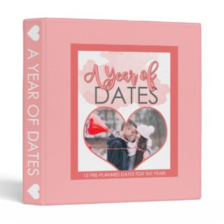 A Year of Dates Binder