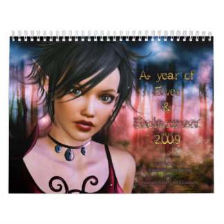 A year of Elves and Enchantment Wall Calendar