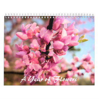 A Year of Flowers Calender Calendar