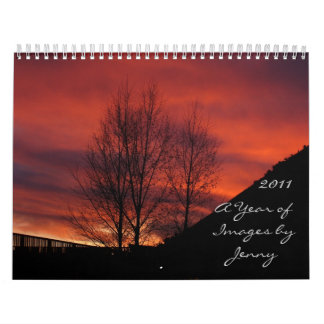 A Year of Images by Jenny Calendar