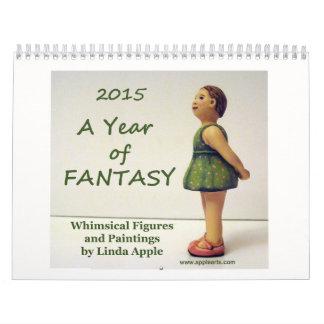 A Year of Imagination Wall Calendar