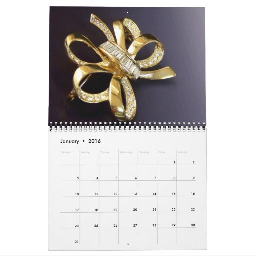 A Year of Jewels Calendar